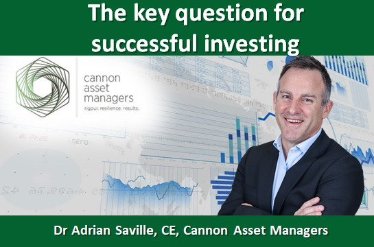 The key question for successful investing