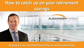 How to catch up on your retirement savin