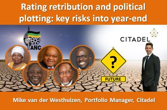 Rating retribution and political plotting:  key risks into year-end