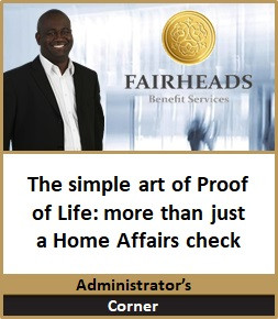 Proof of Life more than just a Home Affairs check
