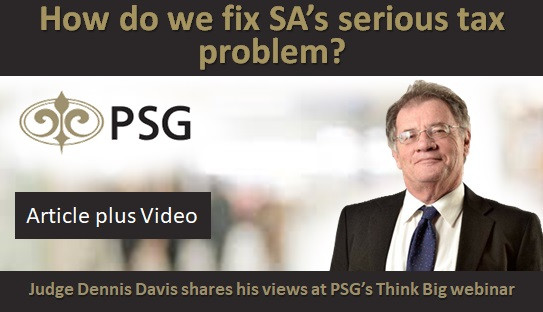 How do we fix SA's serious tax problem?