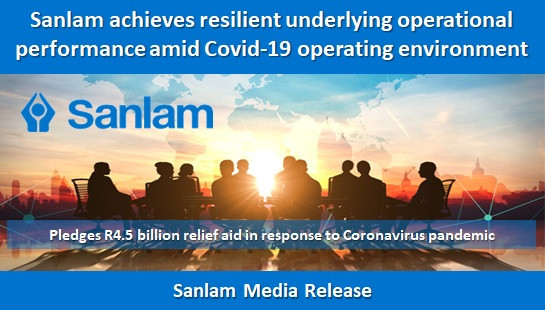 Sanlam achieves resilient underlying operational performance amid Covid-19 operating environment
