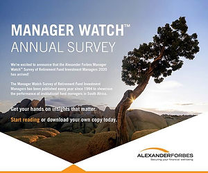 Alexander Forbes Manager Watch Survey 20