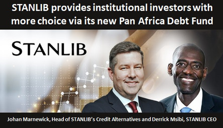 STANLIB provides institutional investors with more choice via its new Pan Africa Debt Fund