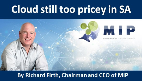 Cloud still too pricey in SA