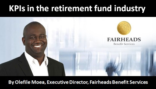 KPIs in the retirement fund industry