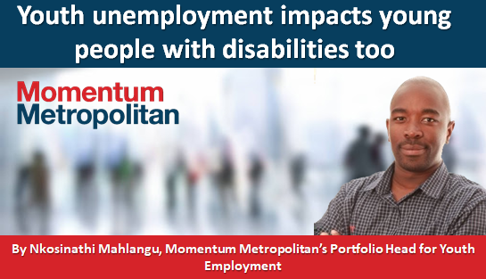Youth unemployment impacts young people with disabilities too