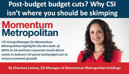 Post-budget budget cuts? Why CSI isn't where you should be skimping