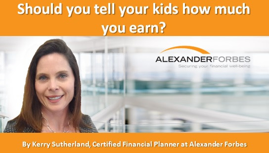 Should you tell your kids how much you earn?