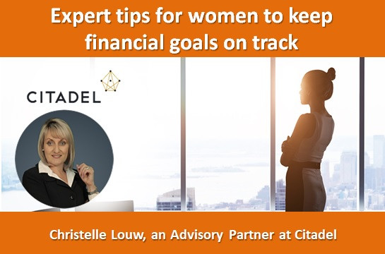 Expert tips for women to keep financial goals on track