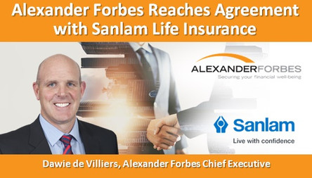Alexander Forbes Reaches Agreement with Sanlam Life Insurance