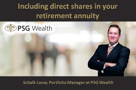 Including direct shares in your retirement annuity