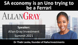 SA economy is an Uno trying to be a Ferrari