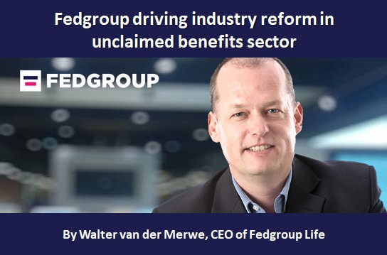 Fedgroup driving industry reform in unclaimed benefits sector