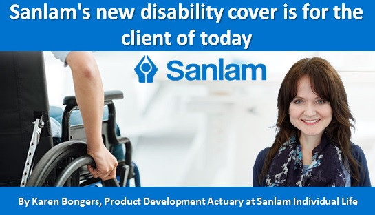 Sanlam's new disability cover is for the client of today