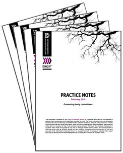 King IV Practice Note: Governing body committees