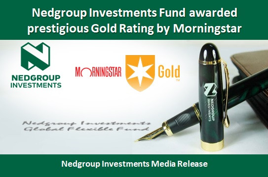 Nedgroup Investments Fund awarded prestigious Gold Rating by Morningstar