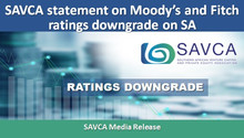 SAVCA statement on Moody's and Fitch ratings downgrade on SA
