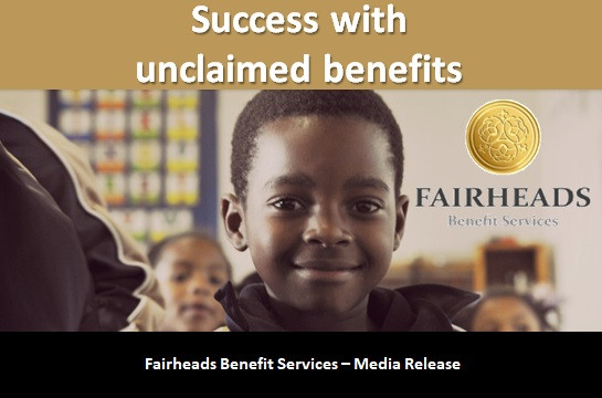 Success with unclaimed benefits