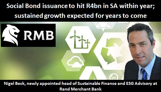 Social Bond issuance to hit R4bn in SA within year; sustained growth expected for years to come