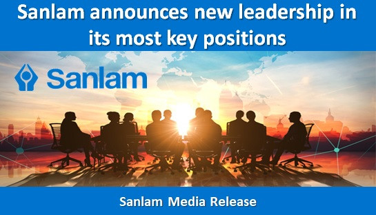 Sanlam announces new leadership in its most key positions
