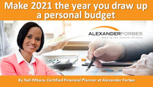 Make 2021 the year you draw up a personal budget