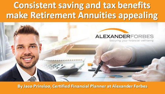Consistent saving and tax benefits make Retirement Annuities appealing