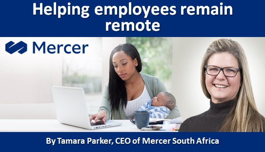 Helping employees remain remote
