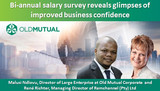 Bi-annual salary survey reveals glimpses of improved business confidence