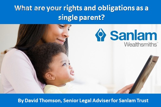 What are your rights and obligations as a single parent?