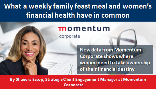What a weekly family feast meal and women's financial health have in common