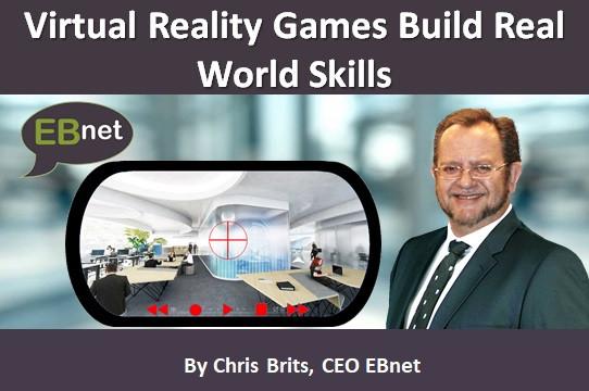 Virtual Reality Games Build Real World Skills