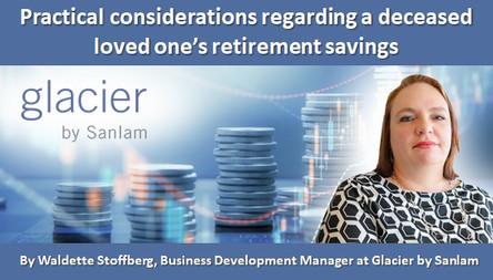 Practical considerations regarding a deceased loved one's retirement savings