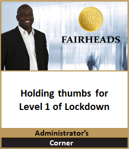 Holding thumbs for Level 1 of Lockdown.p