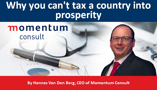 Why you can't tax a country into prosperity