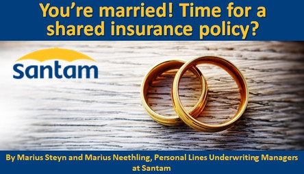 You're married! Time for a shared insurance policy?