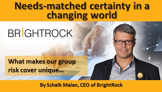 Needs-matched certainty in a changing world - What makes our group risk cover unique