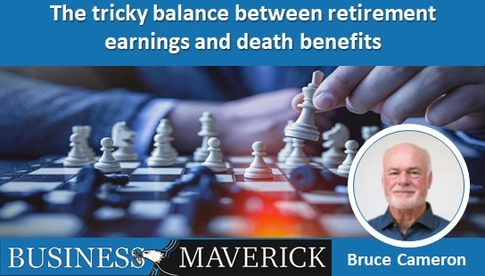 The tricky balance between retirement earnings and death benefits