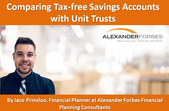 Comparing Tax-free Savings Accounts with Unit Trusts