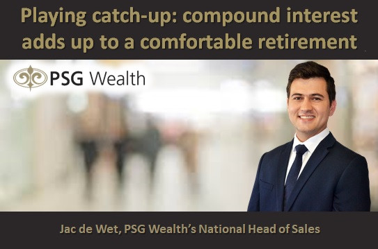 Playing catch-up: compound interest adds up to a comfortable retirement