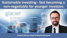 Sustainable investing - fast becoming a non-negotiable for younger investors