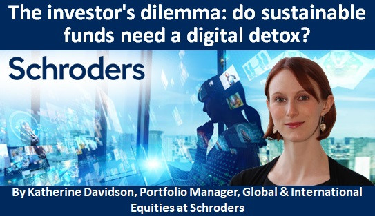 The investor's dilemma: do sustainable funds need a digital detox?