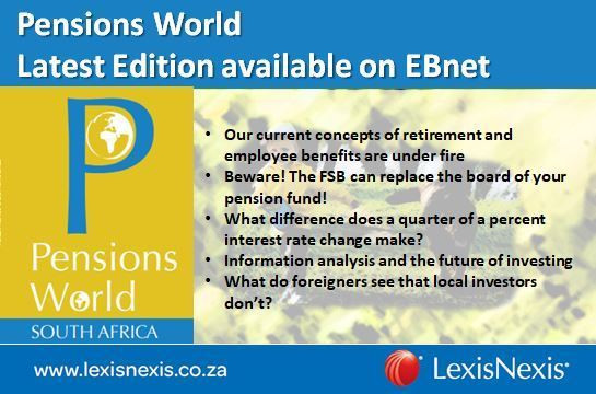 Pensions World Latest Edition available on EBnet (OCT-DEC 2017)