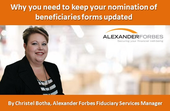 Why you need to keep your nomination of beneficiaries forms updated