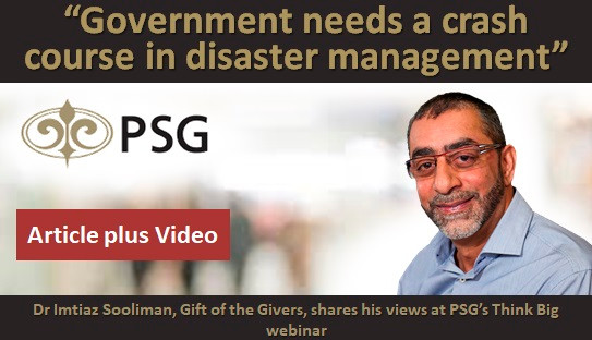 """""""Government needs a crash course in disaster management"""""""