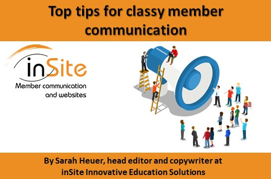 Top tips for classy member communication