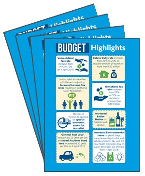 Budget Review 2018 Tax Pocket Guide
