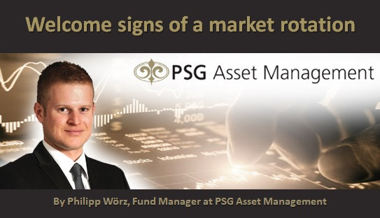 Welcome signs of a market rotation