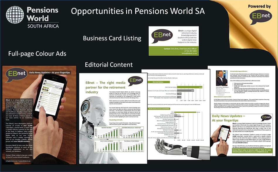 Pensions World EBnet Banner Ad Website C
