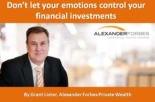 Don't let your emotions control your financial investments